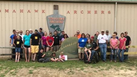 WWDSD 2017@ Tomahawk Archers, MI