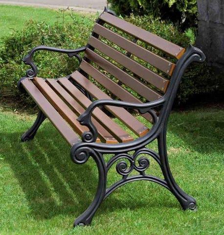 muebles de patio - banco exterior