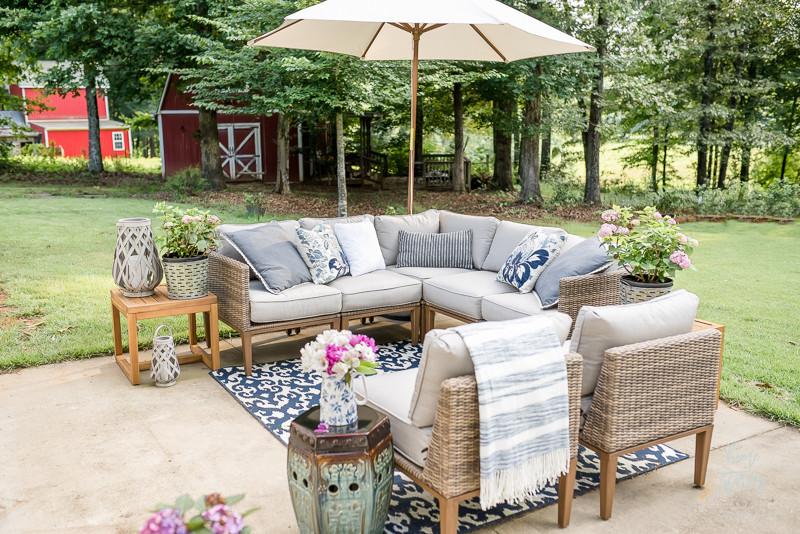 muebles de patio - restauración del mueble