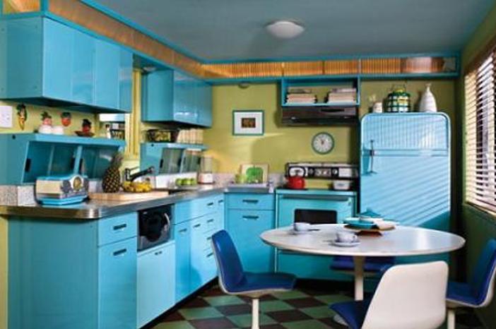 Cocinas eclécticas de los años 60