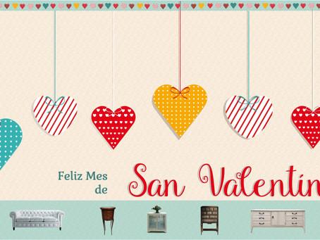 El inicio de la celebración de San Valentín