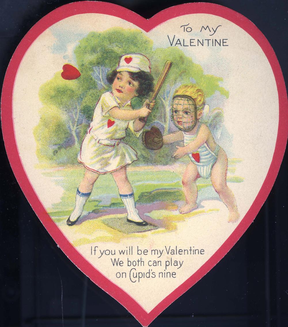 Tarjeta de San Valentin 1860s