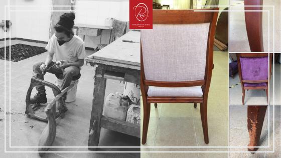 cosas que podemos reutilizar en casa - restauración del mueble
