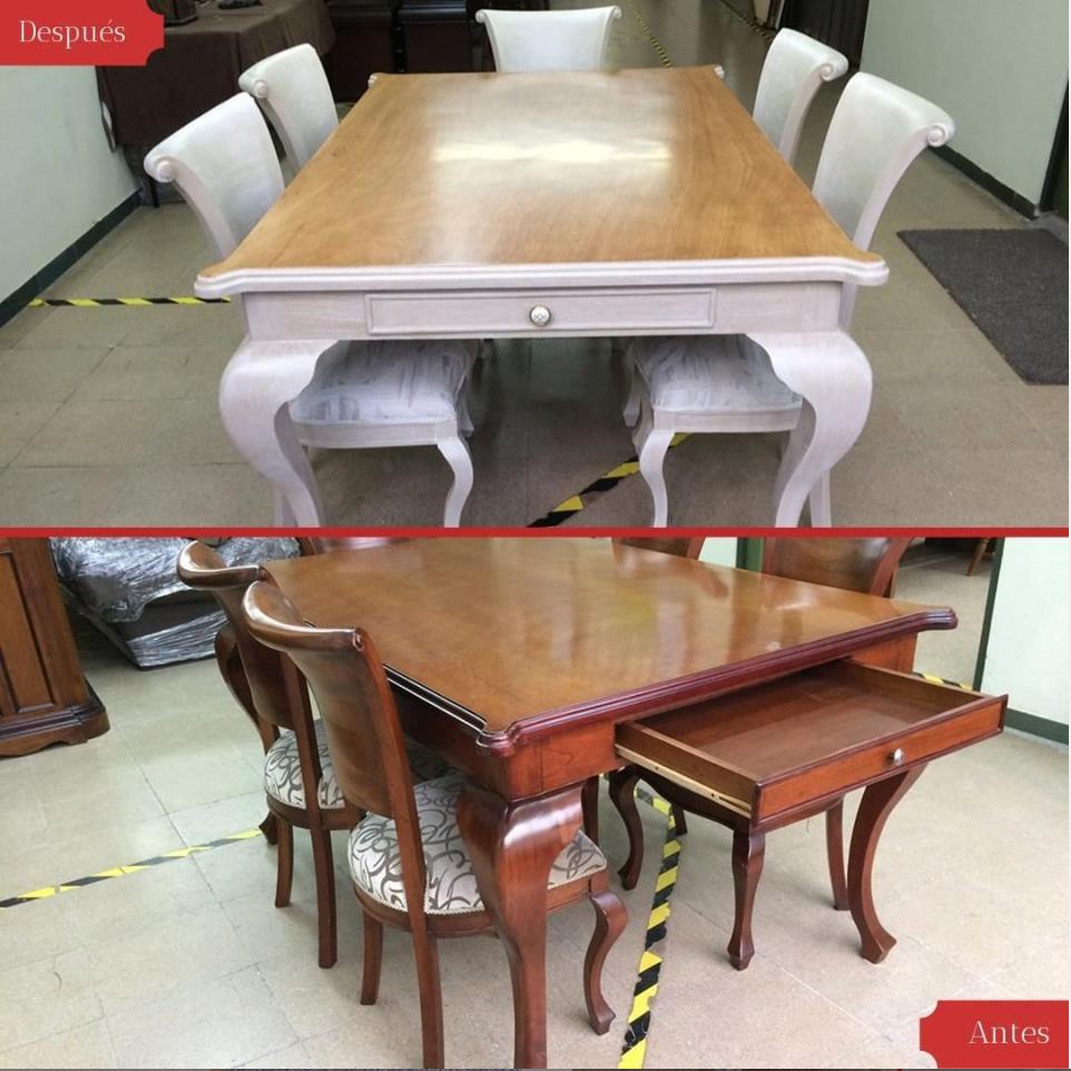 La Evolución de la Mesa del Comedor - Restauración del Mueble