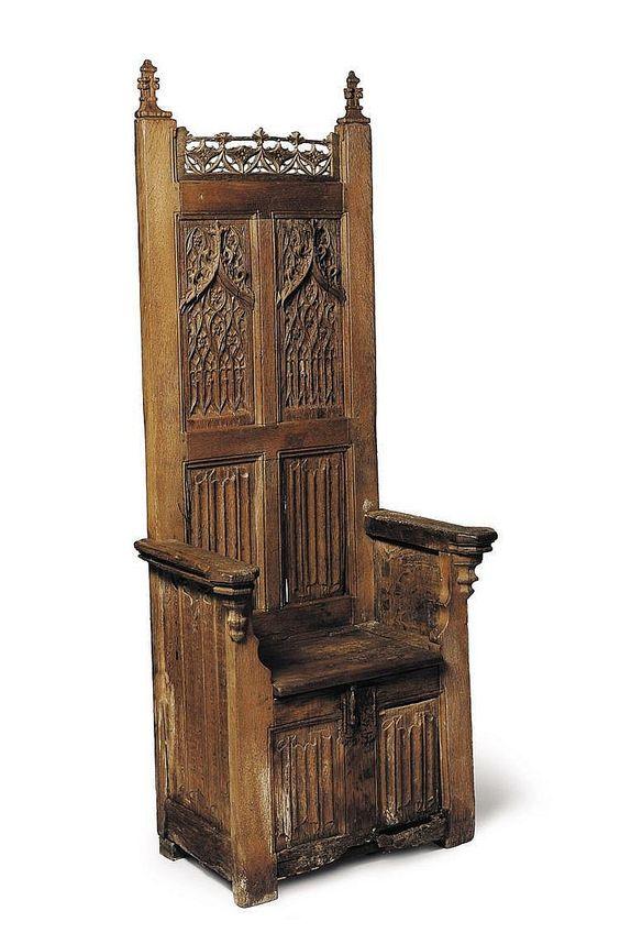 Diseño de Sillas del Siglo VII