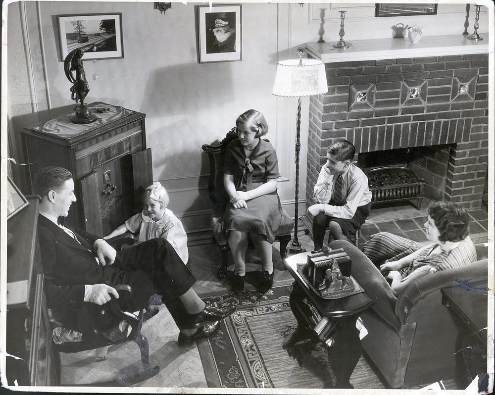 Primer radio en los años 30