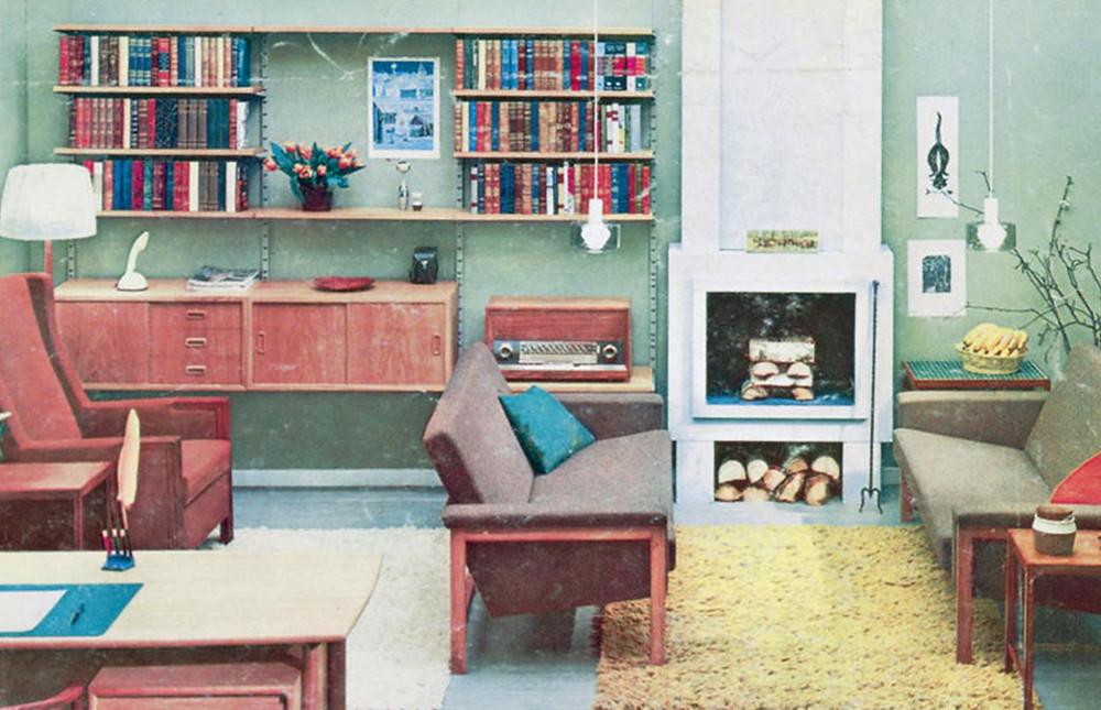 Decoración de Interiores en los Años 50
