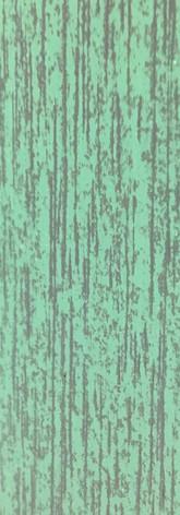 Acabado decapé verde