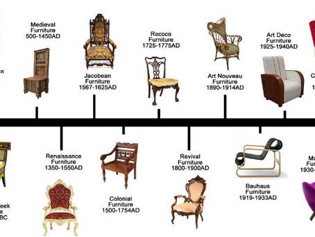 El Diseño De Las Sillas A Través Del Tiempo