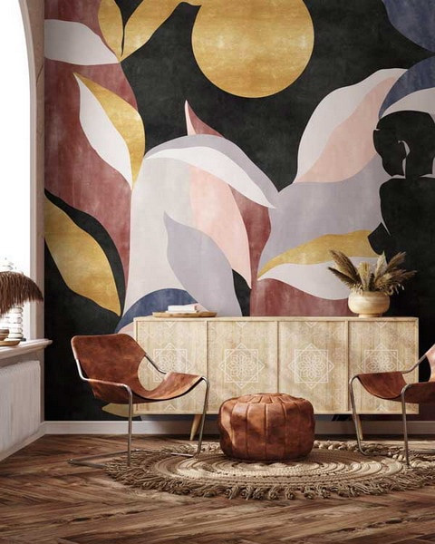 Paredes coloridas, tendencia en decoración de hogar 2021/22