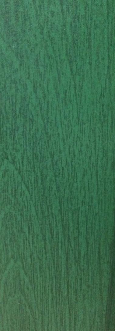 Acabado decapé verde oscuro