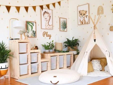 Guía de decoración para la habitación de los niños