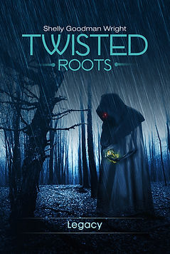 Third book in the Twisted Roots Saga
