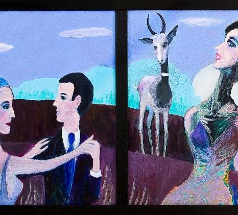 Gazelle (Triptych), 2012.