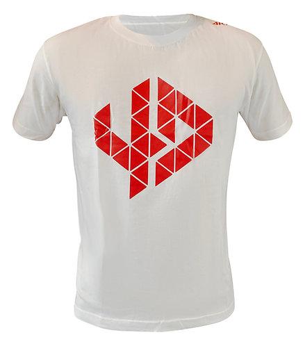 Logo T Shirt white-red