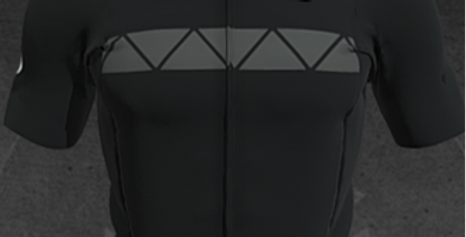 STAGE AIR jersey, Black stone