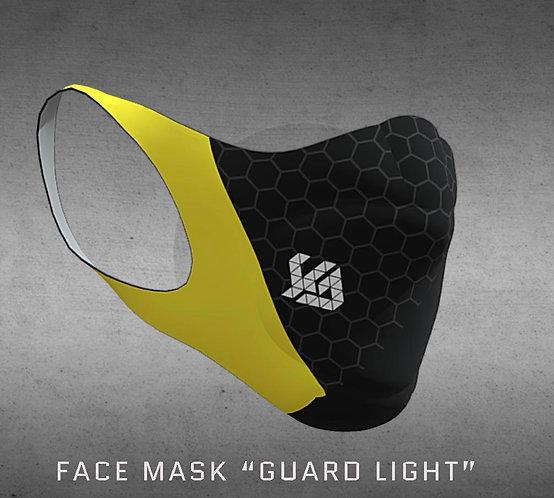 Face Mask Guard , bk-yellow