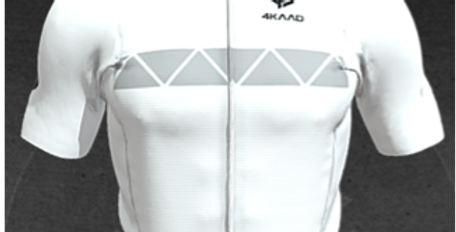 STAGE AIR jersey, white-grey