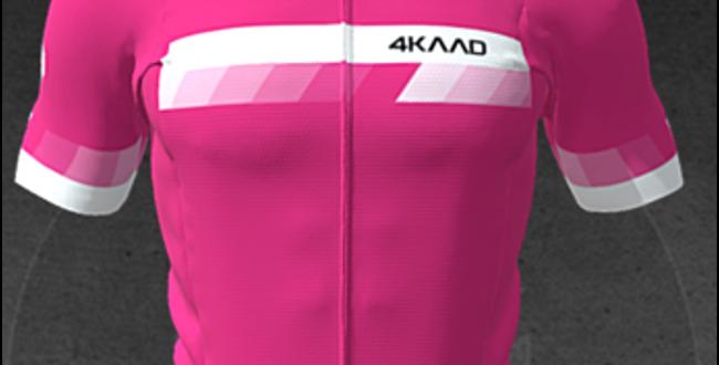 PARIS Premium jersey, SS, pink wht
