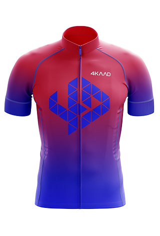 TOUR PRO cycling jersey Diva pink-blue
