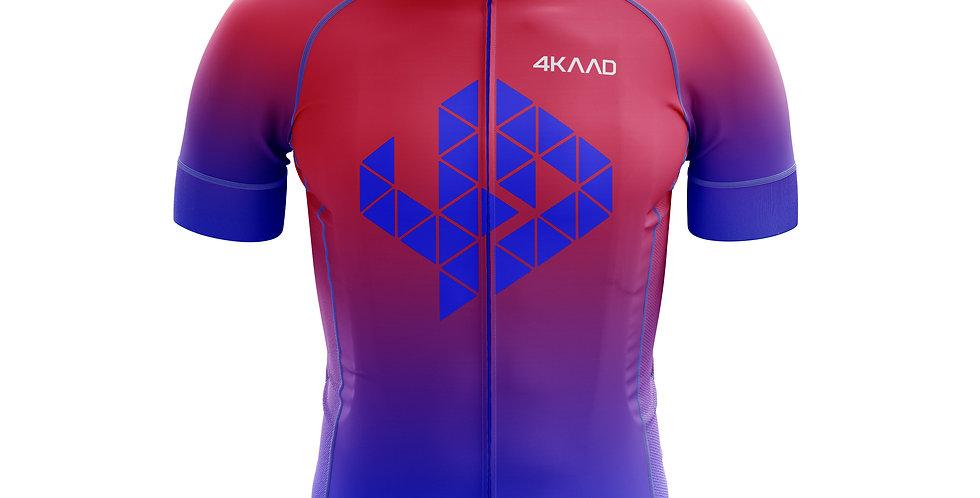 TOUR PRO cycling jersey Diva pink-blue