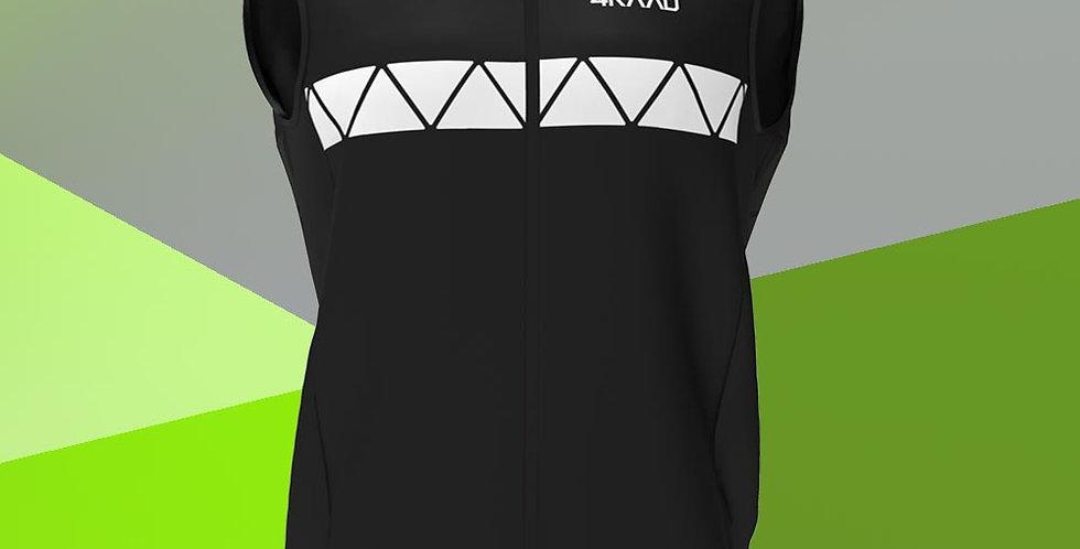 KINU light vest, black white