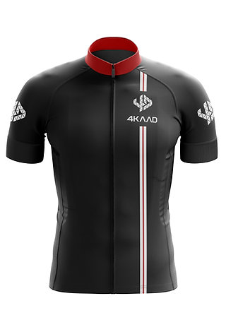 CORE cycling jersey black-red-white