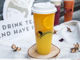 Replication of Heytea's Orange Green Tea