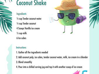 Coconut Shake Recipe
