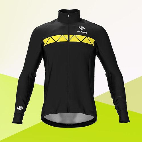 PERFORM Softshell jacket ,Black yellow