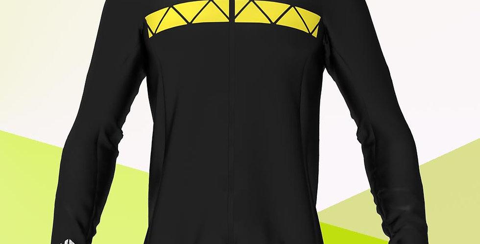 Softshelljacke, schwarz gelb