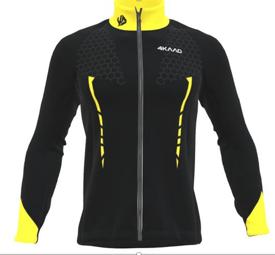 FAST Softshell jacket Men , Yellow black