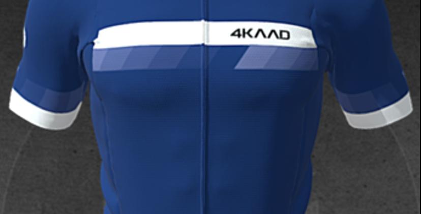 PARIS Premium jersey, SS, blue wht