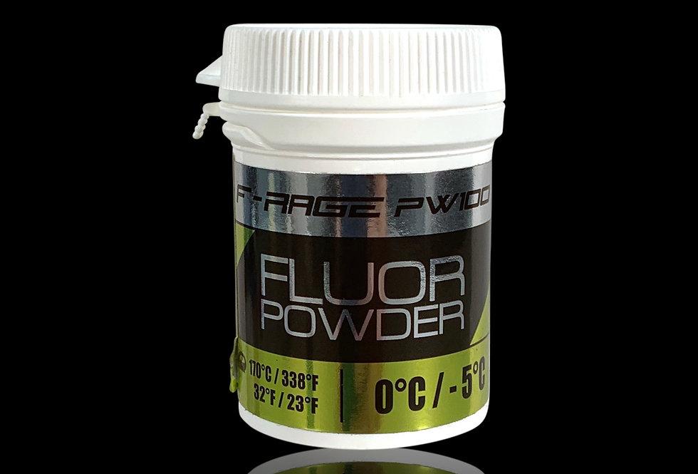 F-RAGE 100 PW yellow Fluor Powder