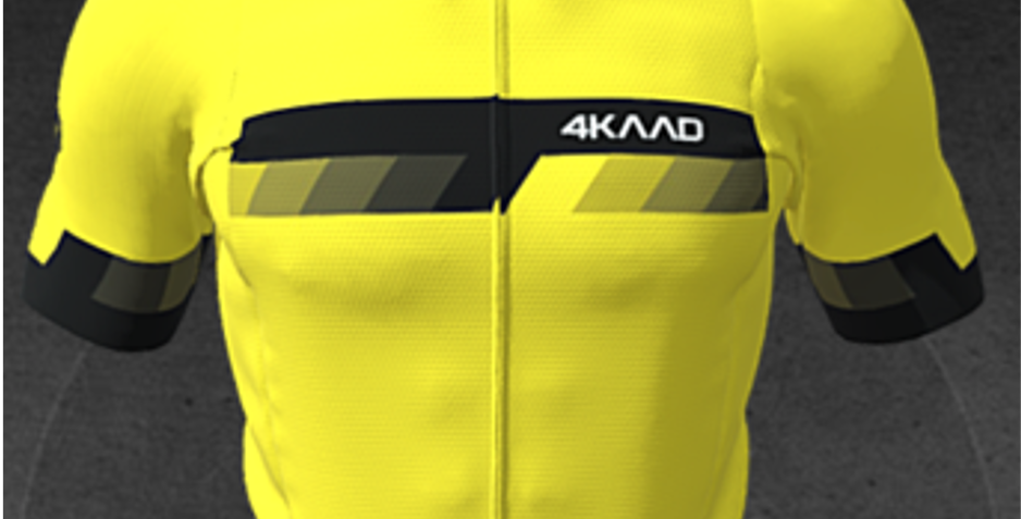 PARIS Premium jersey, SS, yellow