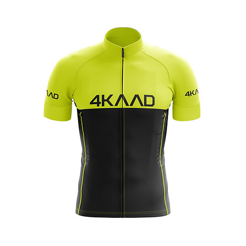 *STAGE PRO cycling jersey yellow
