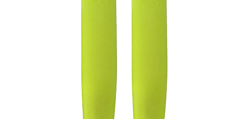 Rollski Spitze 1 Paar, 9mm, gelb