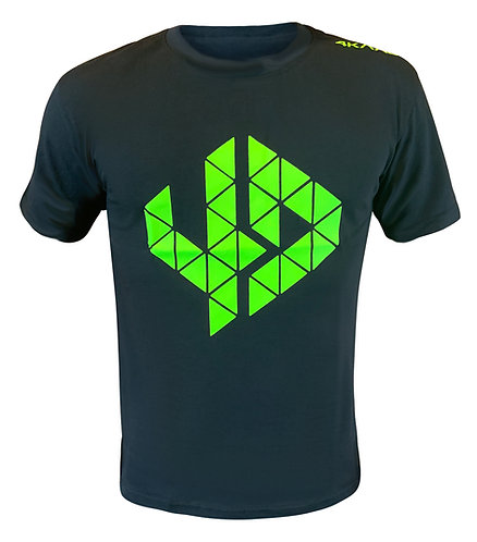 Logo T Shirt black-yellow