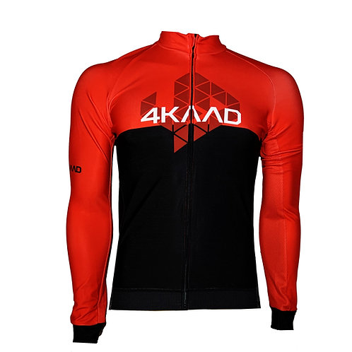 THERMO PRO cycling jersey red