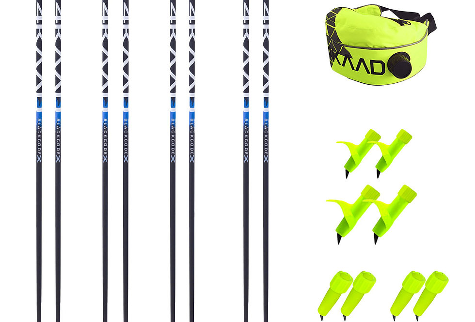"""SPONSOR PACKAGE """"4PRO"""" - 2 pair SKATE  and 2 pair CLASSIC pole pus equipment"""
