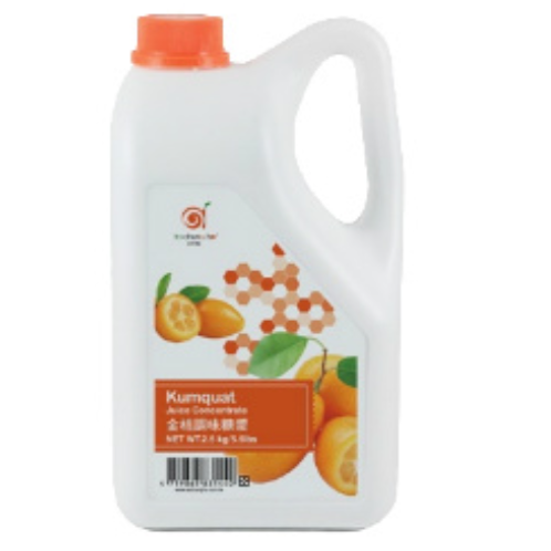 Kumquat Lemon Syrup