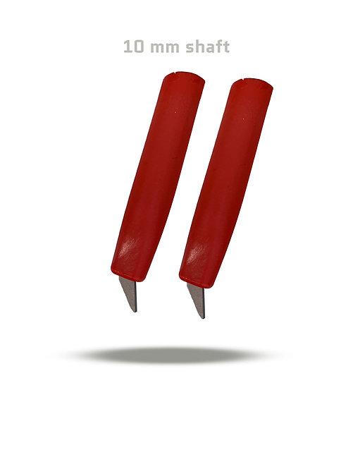 Roller ski tip, 10mm, red