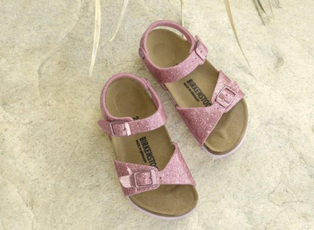 Keep your littlest model's feet feeling great in the Birkenstock Rio