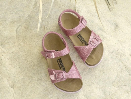 Keep your littlest model's feet feeling great in the Birkenstock Rio