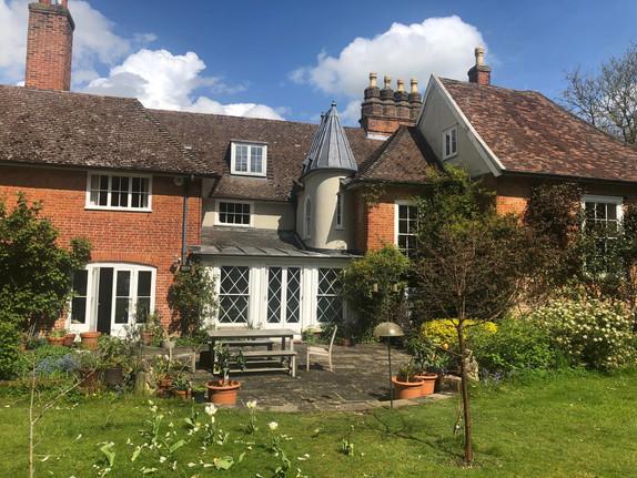 Grade II listed rectory building in Elmsett, Suffolk
