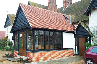 Extension and alterations to house in Suffolk