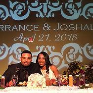 CONGRATULATIONS to Terrance & Joshalyn J