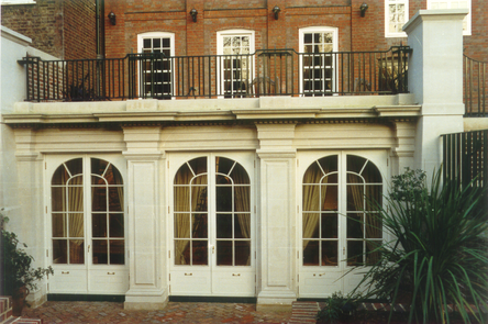 Grade II Listed 5-storey house in London