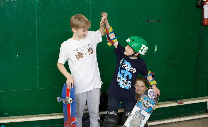 скейтборд школа
