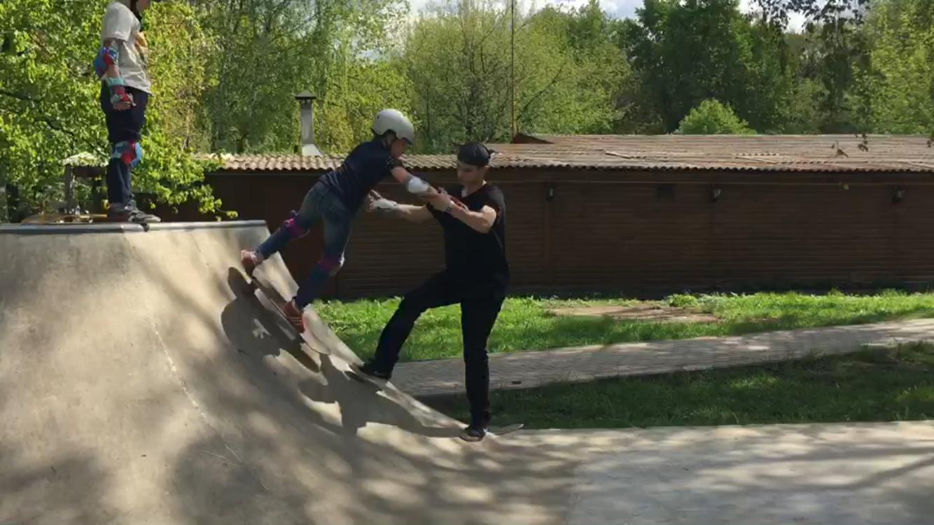 инструктор по скейтборду